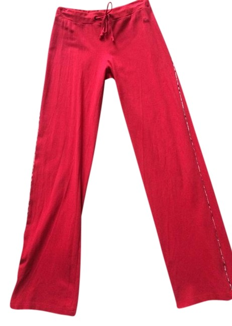 Item - Red Sweat Activewear Bottoms Size 6 (S, 28)