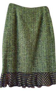 Escada Skirt Green black