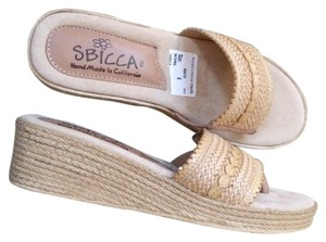 Sbicca TAN Wedges