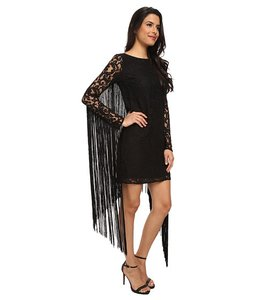 MICHAEL Michael Kors Lace Fringe Dress