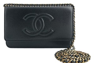 Chanel Woc Walletonchain Caviar Cross Body Bag