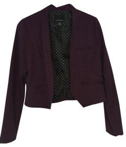 Cynthia Rowley Purple Blazer