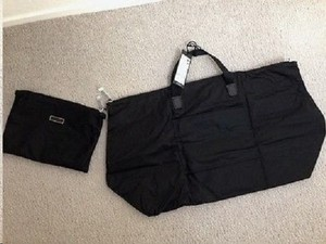 Tumi Travel Folding Tote in Black