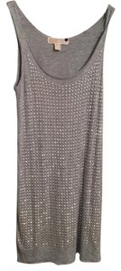 Michael Kors Top Gray studded