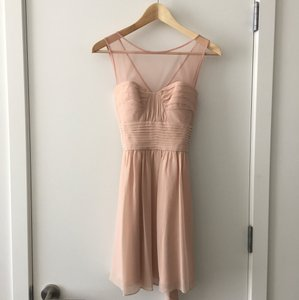 BCBGMAXAZRIA Bare Pink Dress
