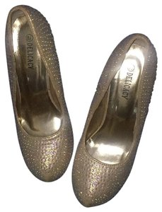 Other Gold & Shimmery Diamonds . Platforms