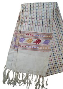 Other Silk embroidery scarf