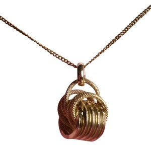 Other Like New Gold Rings Necklace