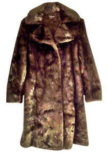 Jones New York Fuax Mink Fur Coat