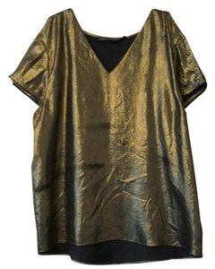 AllSaints Top Gold