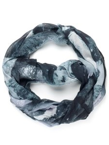 Front Row Society Chic Infinity Multi-Print Scarf