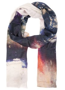 Front Row Society Clouded Vision Cashmere Multi-Print Scarf