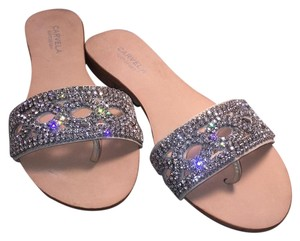 Carvela Kurt Geiger Diamond Summer Bling Nude, diamond Sandals