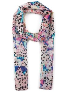 Other Front Row Society / Nit Picker Silk Multi-Print Scarf