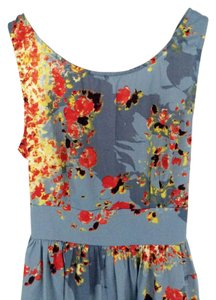 Band of Gypsies short dress Blue Floral on Tradesy