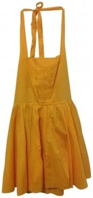 Preload https://item1.tradesy.com/images/ax-armani-exchange-yellow-above-knee-short-casual-dress-size-6-s-19535-0-0.jpg?width=400&height=650