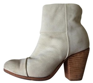Rag & Bone Bootie Suede Ankle 5.5 36 Off-White Boots