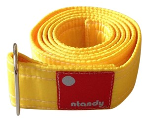 Ntandy ntandy Bright Yellow Nylon Belt