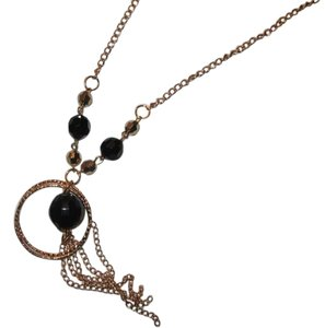 Costume jewelry Necklace Gold /black costume jewelry necklace