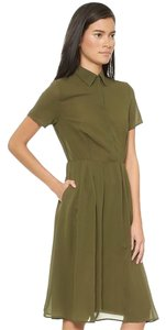 re:named short dress Olive Green on Tradesy