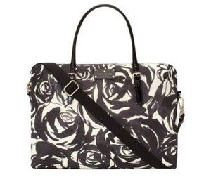 Kate Spade Laptop Brief Case Floral Work Laptop Bag