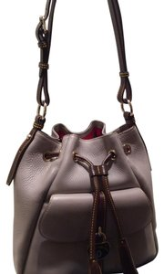 Dooney & Bourke And Samba Leather Drawstring Shoulder Bag