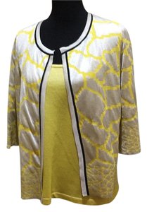 Other Top Yellow, silver, black