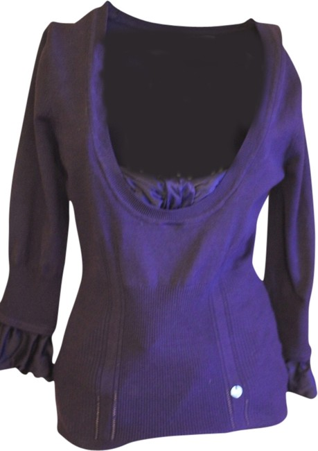 Preload https://img-static.tradesy.com/item/1953553/karen-millen-purple-amazing-detail-in-excellent-condition-sweaterpullover-size-2-xs-0-0-650-650.jpg
