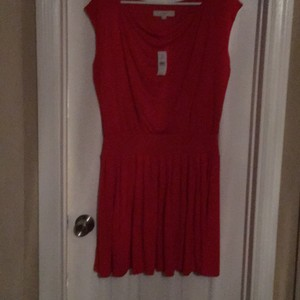 Ann Taylor LOFT short dress Orange on Tradesy