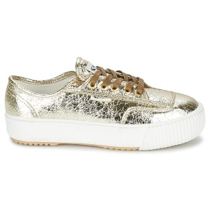 Feiyue Sneakers Winter Metallic gold Athletic