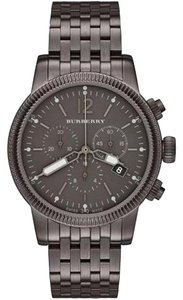 Burberry NWT The Utilitarian Chrono Gunmetal MEN WATCH BU7840 ($995+tax)
