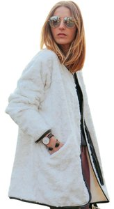 Fifteen Twenty Faux Fur Shopping Casual Holiday Coat