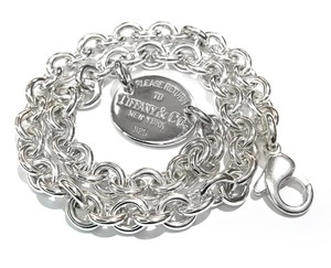 Tiffany & Co. Tiffany & Co. Return To Tiffany Choker Necklace Oval Tag