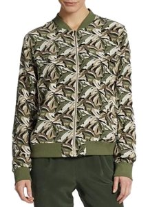 Equipment Bomber Silk Pattern Coat