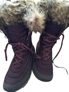 Eddie Bauer Winter Light Weight purple Boots