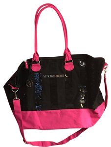 Victoria's Secret Tote in Hot Pink And Black