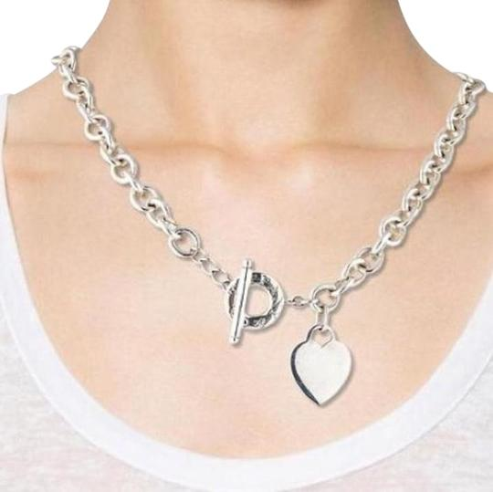 "Tiffany And Company Toggle Necklace: Tiffany & Co. Heart Toggle 16"" Necklace. STUNNING!!!"