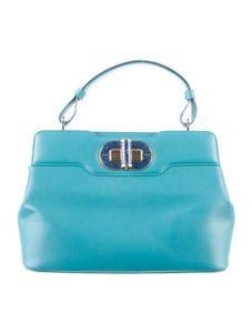 BVLGARI Lapis Winter Los Angeles Shoulder Bag