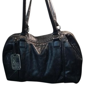 A|X Armani Exchange Satchel in Black