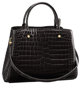 Louis Vuitton Montaige MM Crocodile Brilliant Hobo Bag