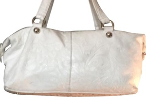 Roberta Satchel in White