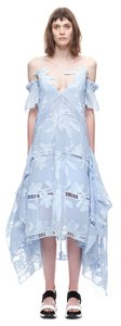 Sky blue Maxi Dress by self-portrait Lace Floral