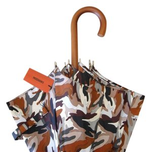 Missoni abstract print umbrella
