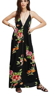 Floral Maxi Dress by Forever 21 Maxi Maxi