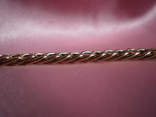 Avon Avon Signed Gold Plated Double Link Chain Necklace
