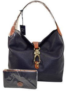 Dooney & Bourke Logo Lock Hobo Bag