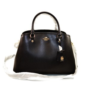 Coach Carryall Satchel in black