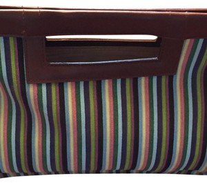 Gap Green Yellow Blue Purple Pink Brown Clutch