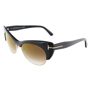 Tom Ford Tom Ford Black/Gold Cat Eye Sunglasses