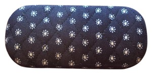 Vera Bradley Seaport Navy Glasses Case